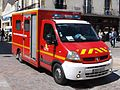 Fire truck - Ambulance at Dijon, France.JPG