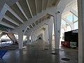 Firenze, stadio artemio franchi, sostegni delle tribune 07.jpg
