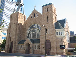 First Baptist Church (Minneapolis) - Image: First Baptist 1