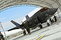 First F-35B Lightning II arrives at MCAS Beaufort 140717-M-UU619-795.jpg