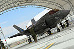 First F-35B Lightning II arrives at MCAS Beaufort 140717-M-UU619-795.jpg