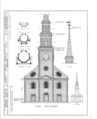 First Presbyterian Church, 820 Broad Street, Newark, Essex County, NJ HABS NJ,7-NEARK,3- (sheet 3 of 16).png