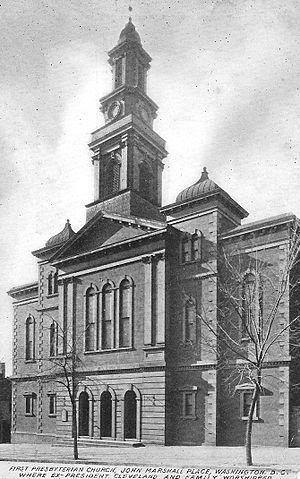National Presbyterian Church - First Presbyterian Church (1812), 4½ Street, Washington DC