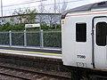 First trains at Lea Bridge station - 26941443342.jpg