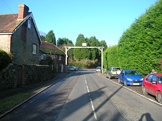 Fittleworth village in the United Kingdom