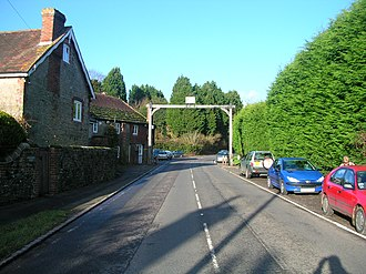 Fittleworth - Image: Fittleworth from the south