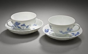 Cup - Teacups on saucers