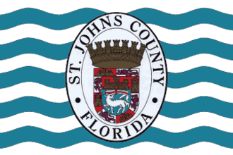 St. Johns County, Florida - Image: Flag of St. Johns County, Florida