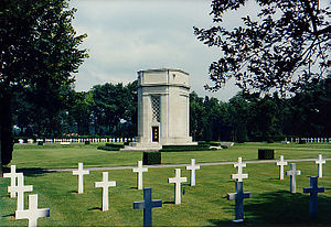 Flanders Field American Cemetery and Memorial,...