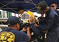 Flickr - Official U.S. Navy Imagery - A U.S. Navy Navy Diver conducts pre-dive equipment checks during a joint diving exercise..jpg
