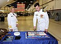 Flickr - Official U.S. Navy Imagery - Navy officers cut a cake..jpg