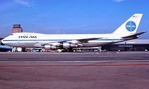 Pan Am Flight 73 - N656PA, plane involved in hijacking, seen in January 1985 at Hamburg Airport