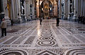 Floor of the main nave, Basilica di San Giovanni 2013.jpg
