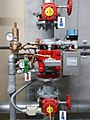 Flow sensor for pre-action wet pipe fire sprinkler system.jpg