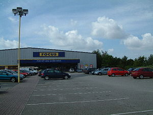 Focus, Tower Park, Poole, Dorset. Focus DIY an...