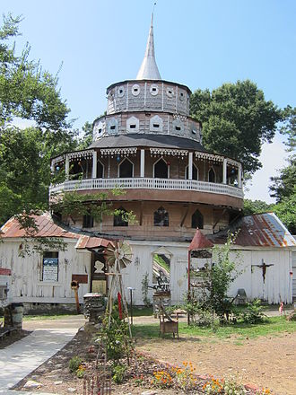 National Register of Historic Places listings in Chattooga County, Georgia - Image: Folk Art Chapel