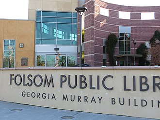 Folsom, California - The Georgia Murray Building
