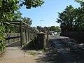 Footbridge beside Castle Road bridge - geograph.org.uk - 1446315.jpg