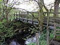 Footbridge on Pennine Way at Nattrass Gill (geograph 4499637).jpg