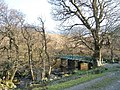 Footbridge over River Scaddle near Tom an Eais - geograph.org.uk - 418590.jpg