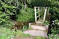 Footbridge over Roe Beck - geograph.org.uk - 508647.jpg