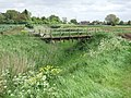 Footbridge over Wikes Drain - geograph.org.uk - 436941.jpg