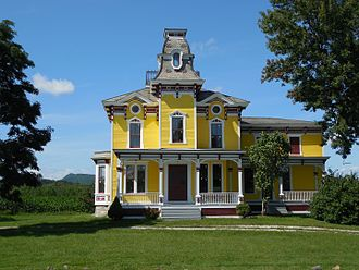 Abram W. Foote - Image: Foote House 20140818