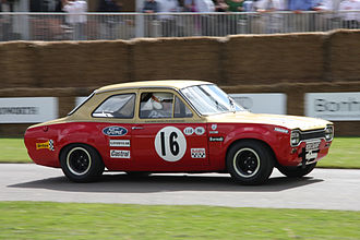 Alan Mann Racing - Ford Escort Twin Cam in Alan Mann Racing livery