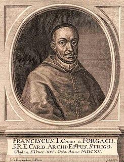 Ferenc Forgách, Archbishop of Esztergom Roman Catholic archbishop
