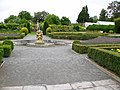 Formal garden, St Fagans Castle - geograph.org.uk - 524422.jpg