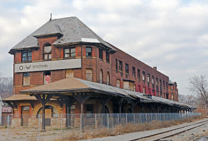 Former O&W station, Middletown, NY.jpg