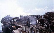 Forrestal Fire '67 fighting