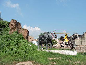 Kotla Nihang Khan - Fort of Kotla Nihang Khan, village Kotla Nihang Khan, Rupnagar district,Punjab,India