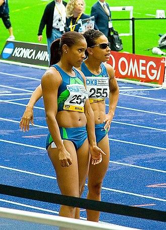 Joanna Hayes - Hayes on Right