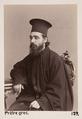 Fotografi av grekisk präst - Hallwylska museet - 103086.tif
