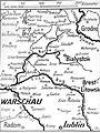 Fotokopia mapy jednego z odcinków frontu wschodniego. (2-704).jpg