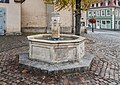 Fountain on Marienplatz in Naumburg 02.jpg