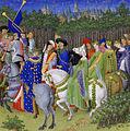 Frères Limbourg - Très Riches Heures du duc de Berry - mois de mai - Google Art Project cropped.jpg