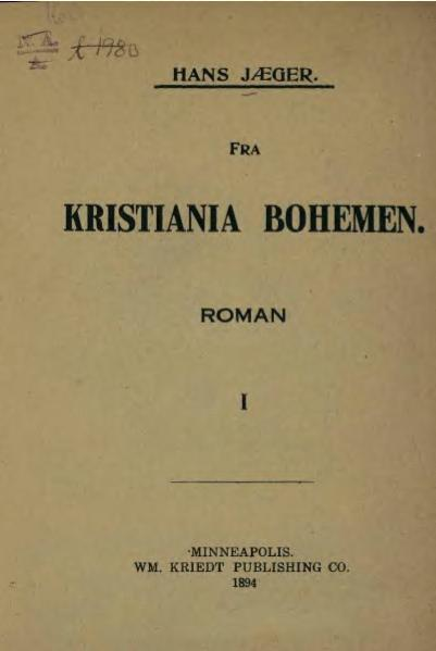 File:Fra Kristiania Bohêmen.djvu