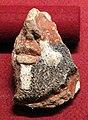 Frammento di antefissa a forma di testa di satiro, da roselle, riempimento del foro, 600-475 ac ca.JPG