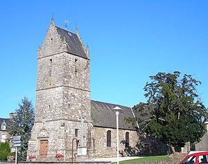 L'église Saint-Martin des Biards.