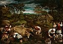 Francesco Bassano - Autumn with Moses receiving the 10 Commandments GG 4304.jpg