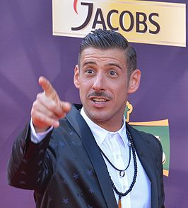 Francesco Gabbani in 2017