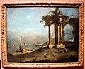 Francesco guardi, capriccio architettonico, con rovine romane, 1780-85 ca..JPG