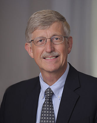 Francis Collins - Collins' first official portrait