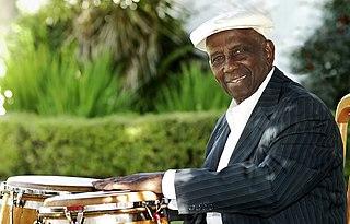 Francisco Aguabella Jazz and folk percussionist