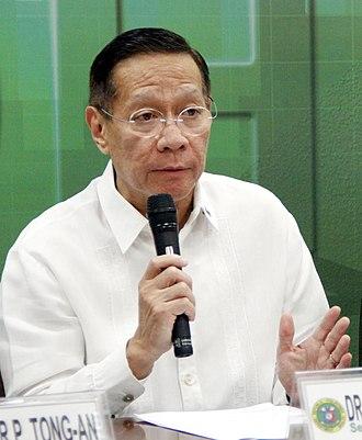 Secretary of Health (Philippines) - Image: Francisco Duque III 2017