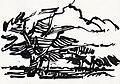 Frank Dekkers Notenbomen 2006 inkt op papier 16x22,2 cm.jpg