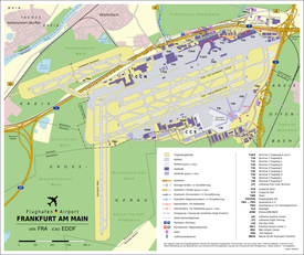 Aeroporto De Frankfurt Wikipedia A Enciclopedia Livre