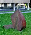 Frankfurt Städel Skulpturengarten Croissant Kopf mit Schultern 3.jpg